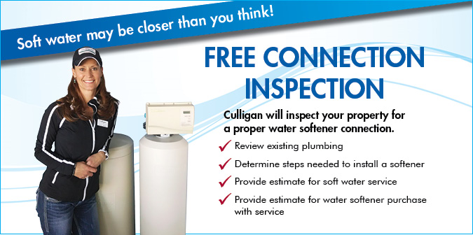 Free Softener Connection Inspection Offer