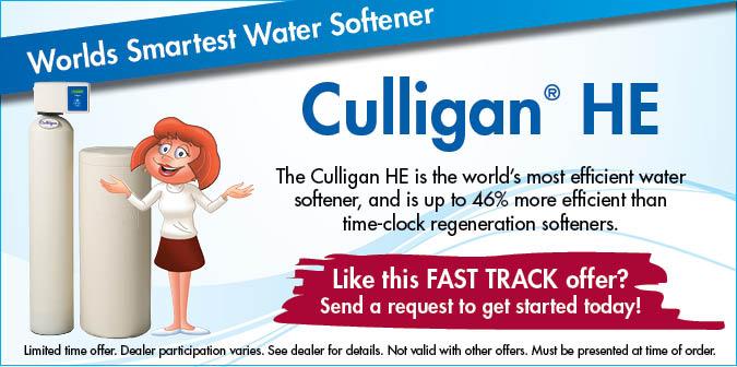 Culligan HE Softener Offer