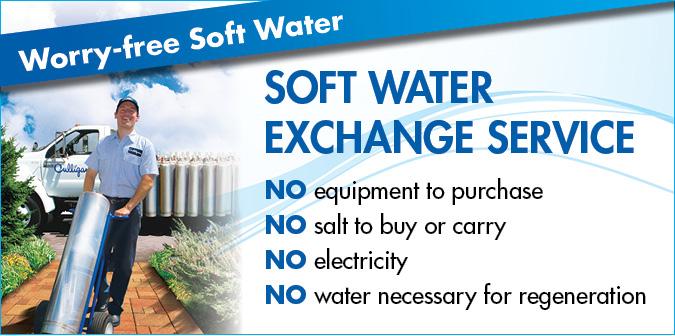 Soft Water Portable Exchange Pe Tank Service Culligan Az